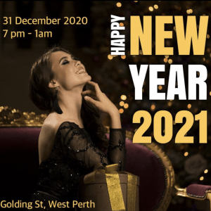 New Years eve 2020 2021 perth tetra live music party like a Russian raven