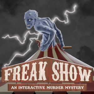 Freakshow Fringe World show circus cabaret 2020 aline a line in the air Backdoor Productions
